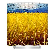 Homage To Van Gogh Shower Curtain