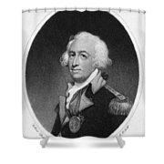 Horatio Gates (c1728-1806) Shower Curtain