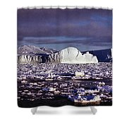 Iceberg In The Ross Sea Antarctica Shower Curtain