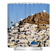 Ios Town Shower Curtain