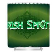 Irish Spirit Shower Curtain