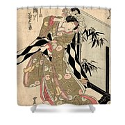 Japan: Tale Of Genji Shower Curtain