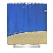 Jockey's Ridge State Park Shower Curtain