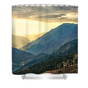 Kalinchok Kathmandu Valley Nepal Shower Curtain