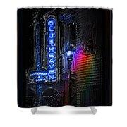 Key West Florida - Blue Heaven Rendezvous Shower Curtain