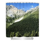 Kindersley Pass Shower Curtain
