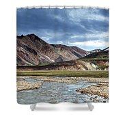 Landmannalaugar Iceland Shower Curtain