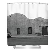 Las Vegas New Mexico Church Shower Curtain
