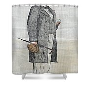 Lew Wallace (1827-1905) Shower Curtain