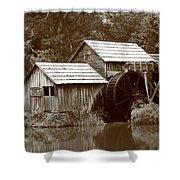 Mabry Mill - Blue Ridge Mountains Shower Curtain