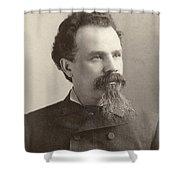 Man, 19th Century Shower Curtain