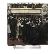 Masked Ball At The Opera Shower Curtain