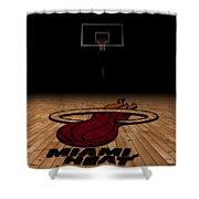 Miami Heat Shower Curtain