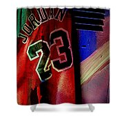 Michael Jordon Shower Curtain