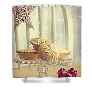 Mince Pies Shower Curtain