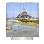 Mont Saint-michel - Normandy Shower Curtain