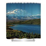 Mount Denali, Previously Known Shower Curtain