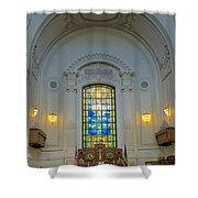 Naval Academy Chapel Shower Curtain