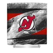New Jersey Devils Shower Curtain
