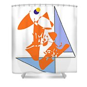 No. 1 Shower Curtain