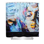 4 Non Blondes - Linda Perry Shower Curtain