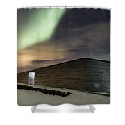 Northern Lights Iceland Shower Curtain
