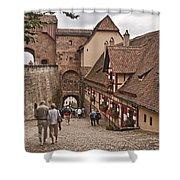 Nurnberg Germany Castle Shower Curtain