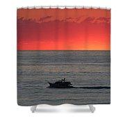 Ocean City Md Sunrise Shower Curtain