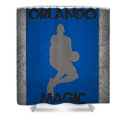 Orlando Magic Shower Curtain