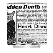 Patent Medicine, C1890 Shower Curtain