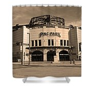 Pnc Park - Pittsburgh Pirates Shower Curtain