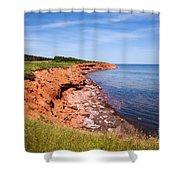 Prince Edward Island Coastline Shower Curtain