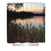 River Murray Sunset Series 1 Shower Curtain