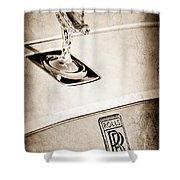 Rolls-royce Hood Ornament Shower Curtain