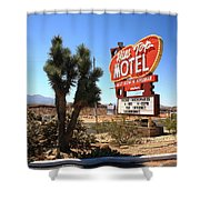Route 66 - Hill Top Motel Shower Curtain