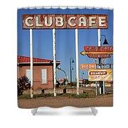 Route 66 - Santa Rosa New Mexico Shower Curtain
