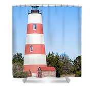Sapelo Island Lighthouse Sapelo Island Georgia Shower Curtain