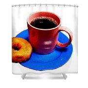 Saturday Morning Breakfast Shower Curtain
