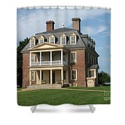 Shirley Plantation Shower Curtain