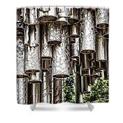 Sibelius Pipe Monument - Helsinki Finland Shower Curtain