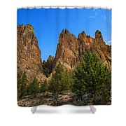 Smith Rock State Park - Oregon Shower Curtain
