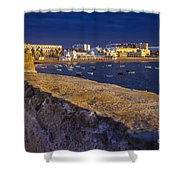 Spa Of Our Lady Of The Palm Cadiz Spain Shower Curtain