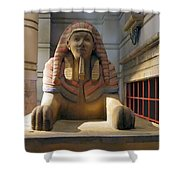 Sphinx Shower Curtain