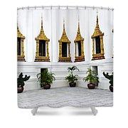 Thai Kings Grand Palace Shower Curtain