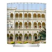 The Aga Khan Palace Shower Curtain