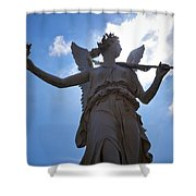 The Castle Of Schwerin Shower Curtain