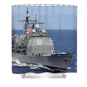 The Guided-missile Cruiser Uss Shower Curtain