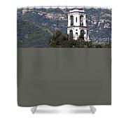 Thomas Aquinas Chapel Shower Curtain