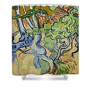 Tree Roots Shower Curtain