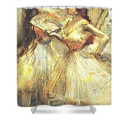 Two Dancers Shower Curtain